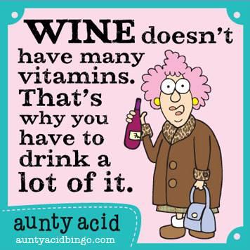 Aunty Acid Humour Bites