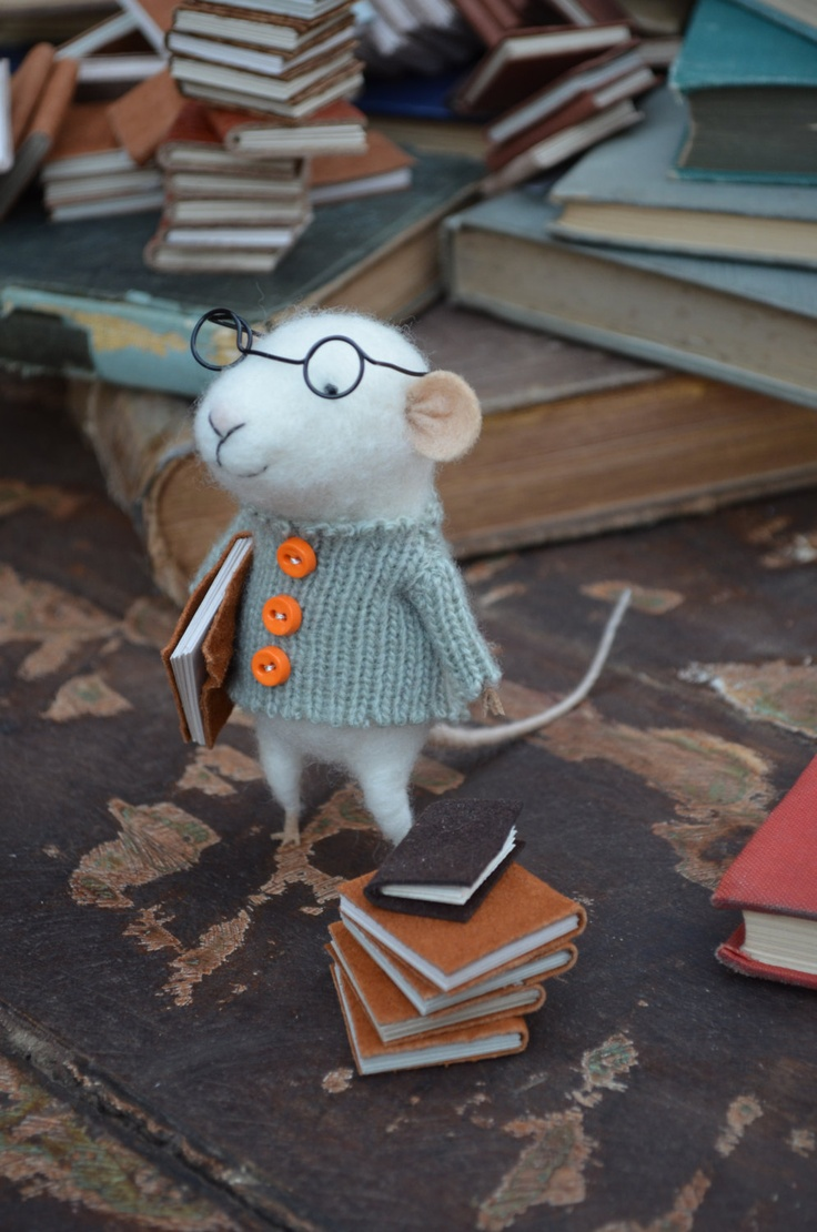Who wouldn't love this little mouse reader