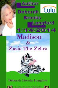 Zusie, the zebra